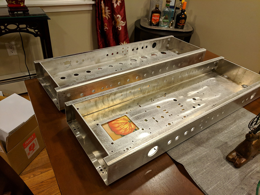 """5052 .125"""" Aluminum Chassis Delivered"""