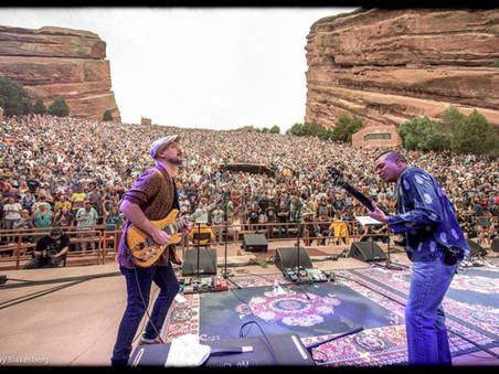 John Mayer Pedalboard | Jerry Garcia's 75th Birthday @ Red Rocks 8/4/2017