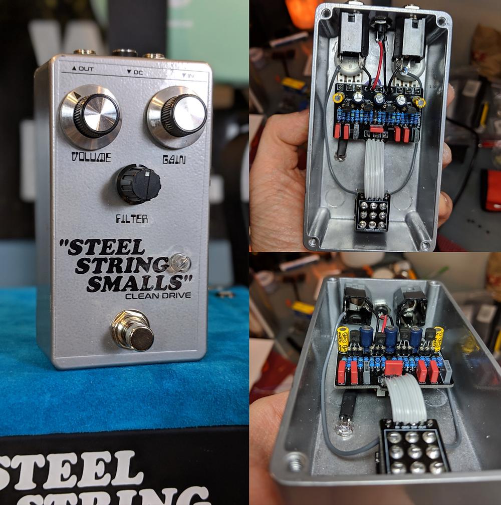 DIY Vertex Steel String Clean Drive