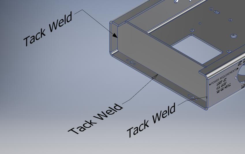 weld instructions