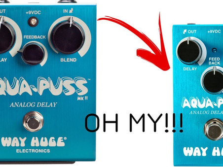 "Way Huge announces ""Way Smalls"" Aqua Puss WM71 MKIII!"