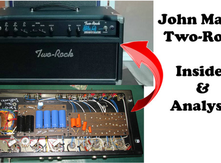 Inside & Analysis of a REAL John Mayer Two-Rock Signature Amplifier
