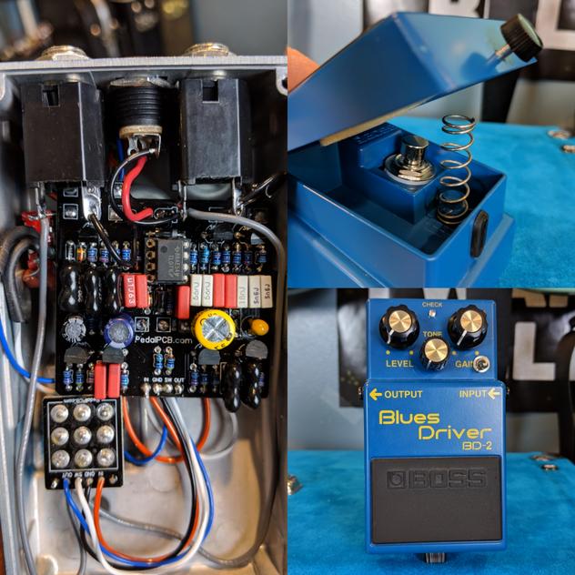 Boss BD-2 Keeley Phat Mod PedalPCB