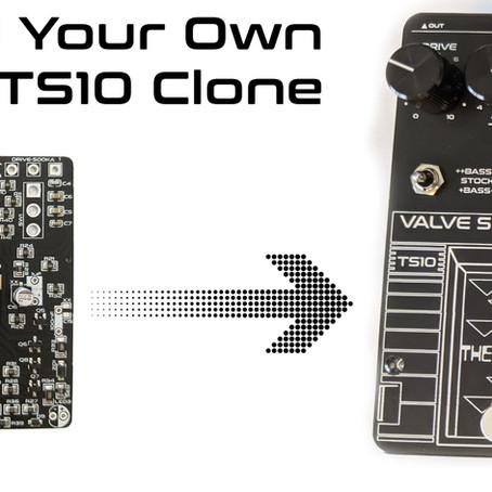 Build Your Own Original Tone Geek TS10 Valve Screamer