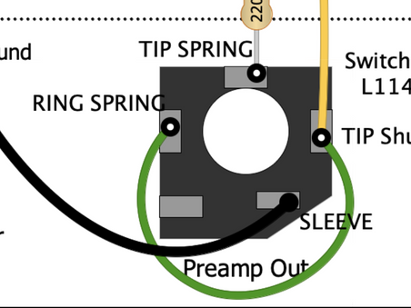 Diving Deep How-To Add Pre-Amp Output to a Fender AB763