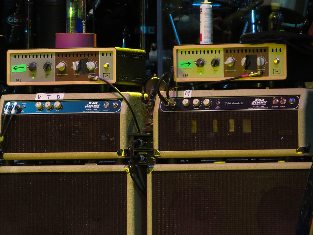 Bob Weir's 2018 Dead and Company Amps and Settings