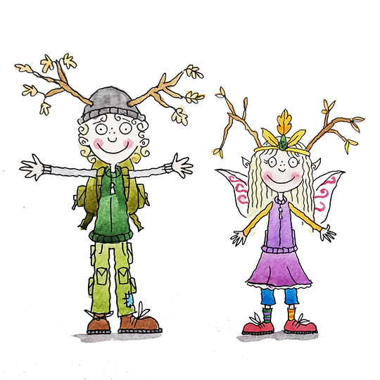 Tilly Fairy and Bodkin Jack illustration