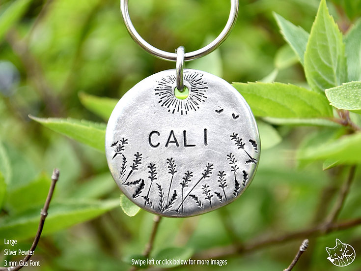 Field Song Pet Tag