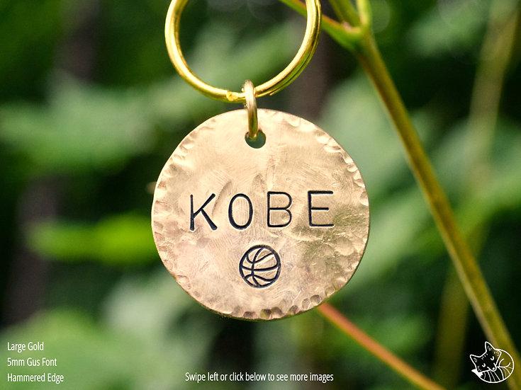 Basketball Pet Tag