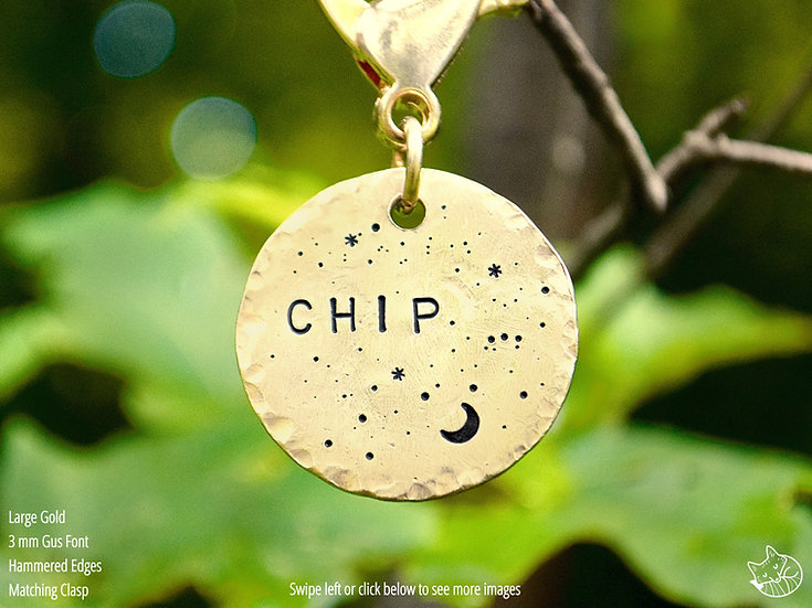 Canis Major Pet Tag