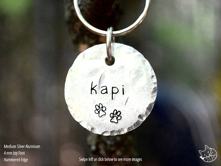Dog Paws Pet Tag