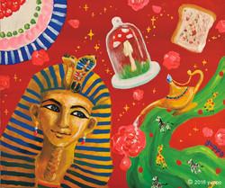 Tutankhamun's party