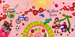Wedding Party Seat plan