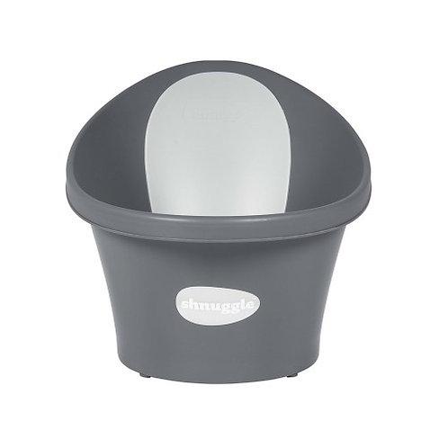 Shnuggle Baby Bath with Plug - Slate Grey