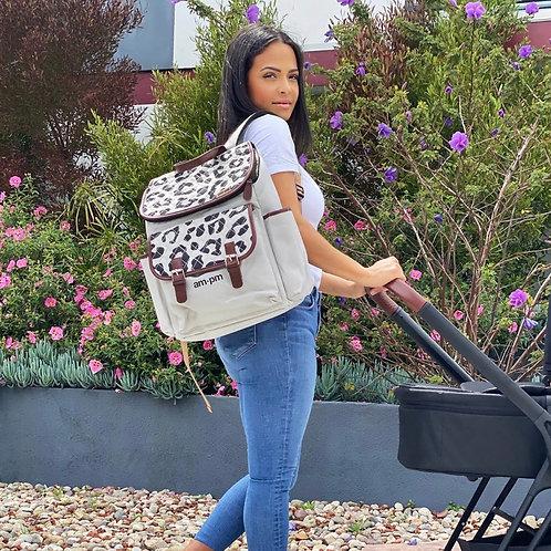 Christina Milian Leopard Changing Backpack