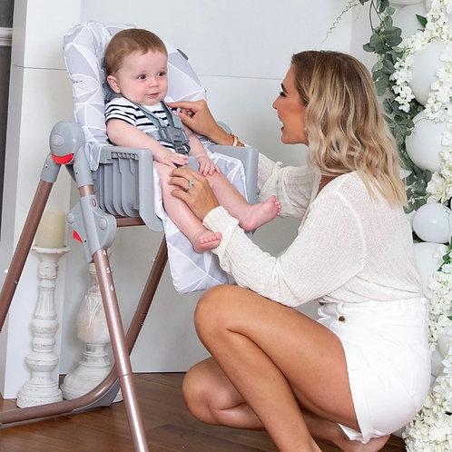 Billie Faiers Rose Gold Highchair