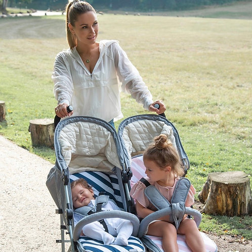 Samantha Faiers Grey Melange Double Stroller
