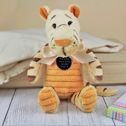 Classic Winnie The Pooh Personalised Soft Toy - Tigger
