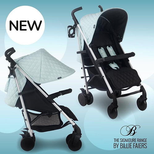 Billie Faiers Quilted Aqua Lightweight Stroller