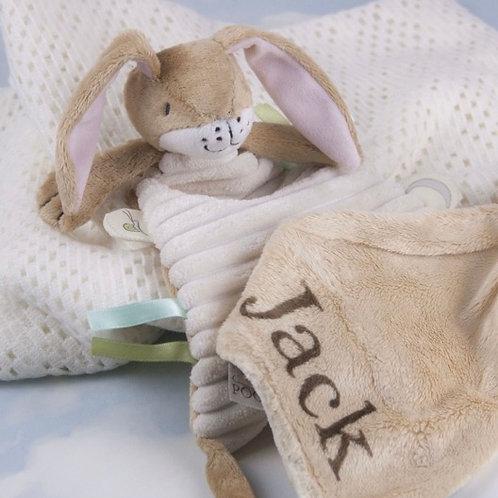 Nutbrown Hare Personalised Comfort Blanket