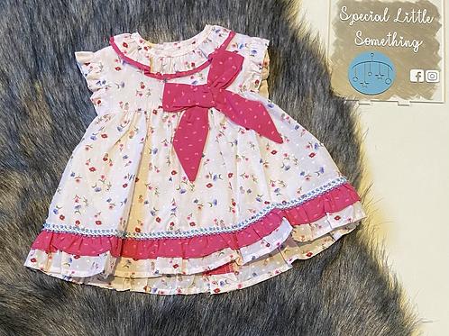 Baby Ferr 'Fleur' Spanish Dress, Knickers & Bonnet
