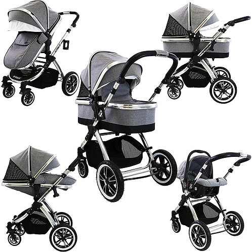 iVogue 3 in 1 Travel System with Car Seat