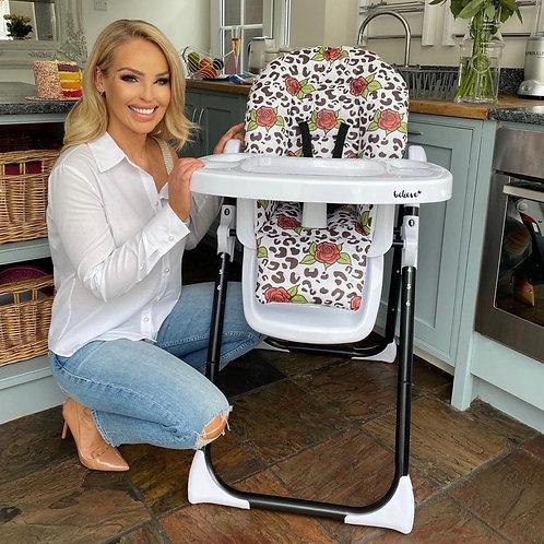 Katie Piper Leopard Premium Highchair