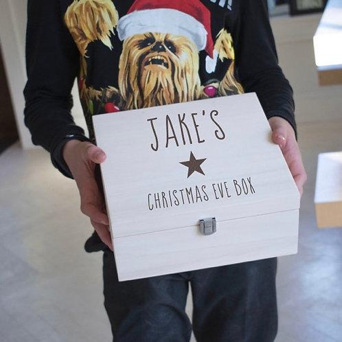 Personalised Star Christmas Eve Box