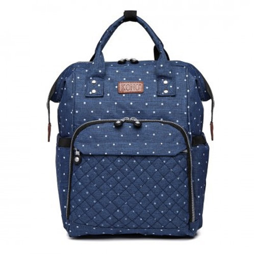 Blue Dot Changing Bag