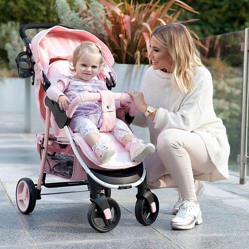 Billie Faiers Pink Stripes Pushchair