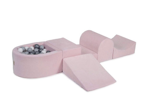'Pink & Grey' Soft Play Set