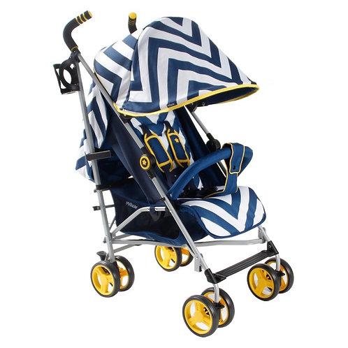 My Babiie Blue Chevron Lightweight Stroller