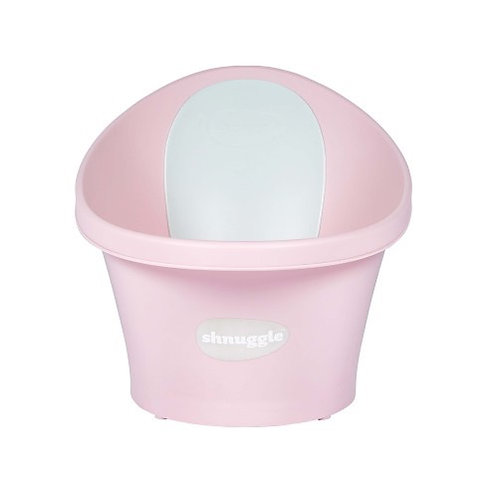 Shnuggle Baby Bath with Plug - Pink