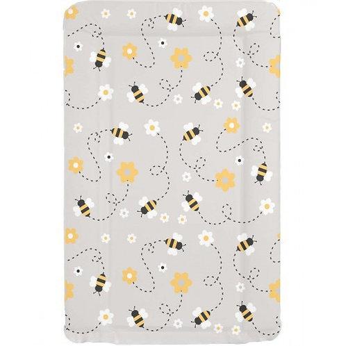 Grey Bee Changing Mat