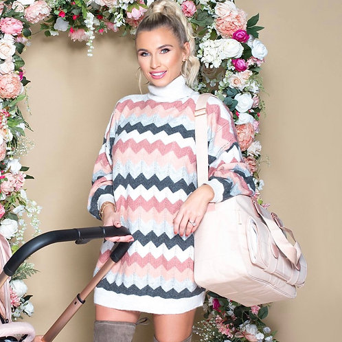Billie Faiers Deluxe Blush Changing Bag