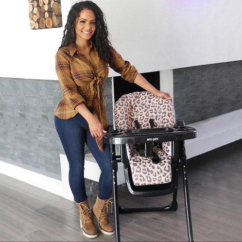Christina Milian Leopard Highchair