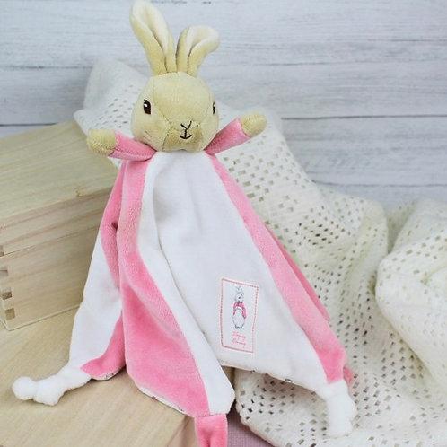 Flopsy Bunny Personalised Comfort Blanket