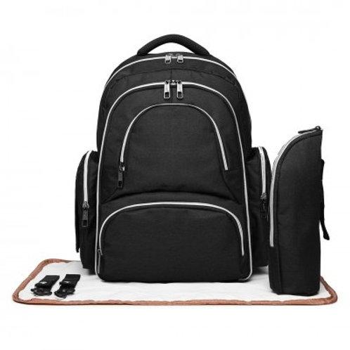Black Oval Changing Bag