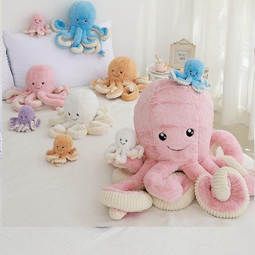 Octopus Plush - Various Colours & Sizes