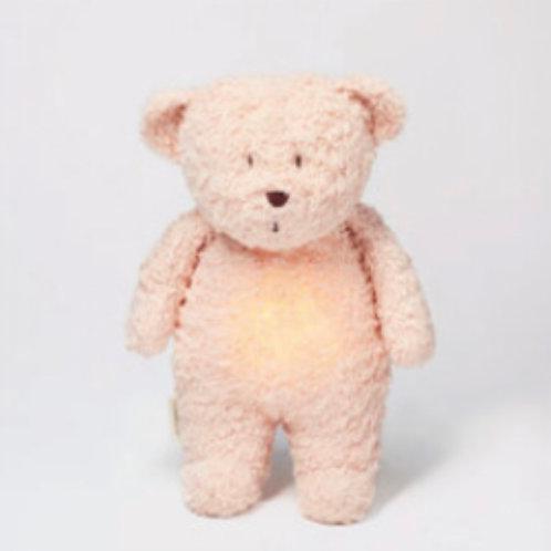 Moonie Organic Humming Bear - Rose