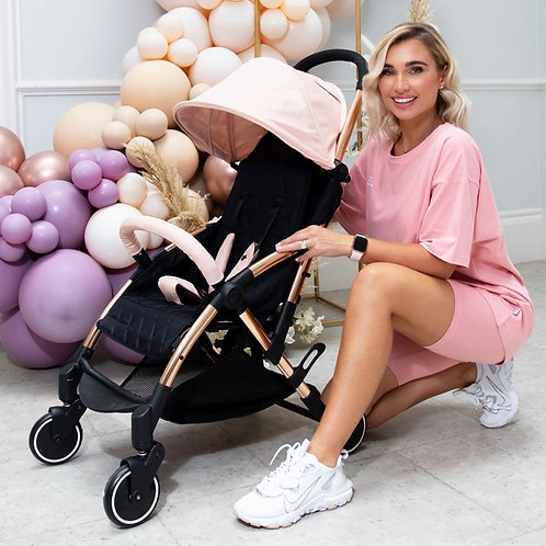 Billie Faiers Rose Gold & Blush Compact Stroller