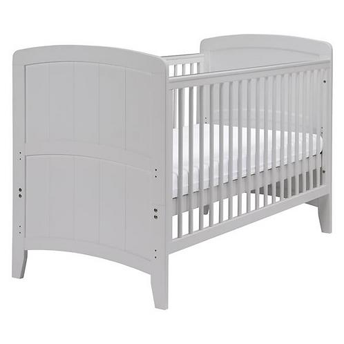 East Coast 'Venice' Cot Bed - Grey