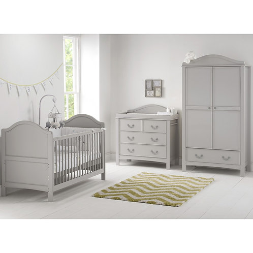 East Coast 'Toulouse' Collection - Cot Bed Grey