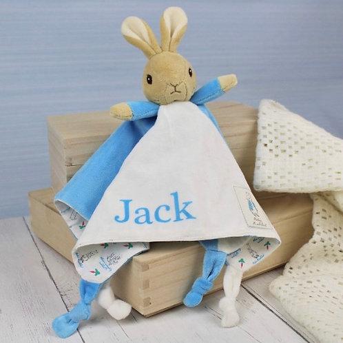Peter Rabbit Personalised Comfort Blanket