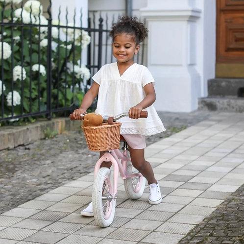 Baghera Pink Vintage Balance Bike