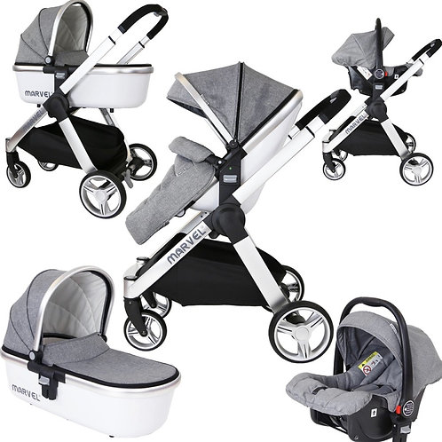 Marvel 3-in-1 Travel System - Various Colours