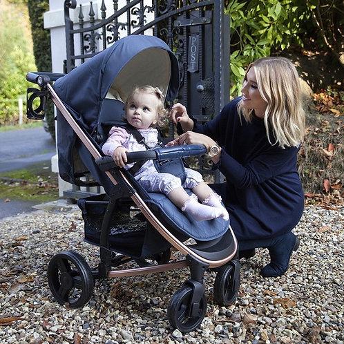 Billie Faiers Rose Gold & Navy Pushchair