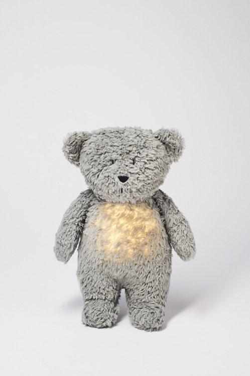 Moonie Organic Humming Bear - Mineral Grey