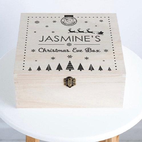 Personalised Santa Christmas Eve Box