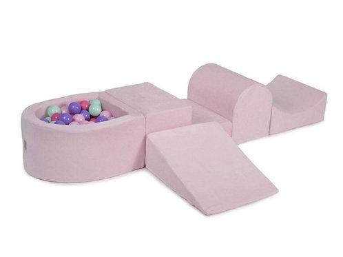 'Pink Pastel' Soft Play Set